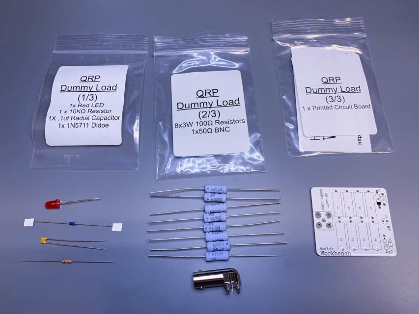 QRP Dummy Load Full Kit